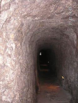 Der lange Tunnel - Bucht Sa Calobra / Torrent de Pareis