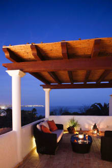 Terrace of Oasis Suite with rooftop terrace -