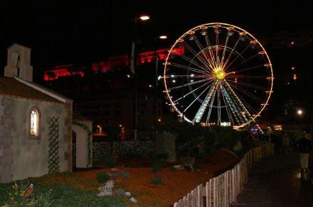 Riesenrad - Weihnachtsmarkt Monaco