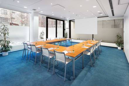 Conference room - U-shape setup -
