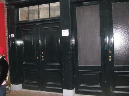 Anne Frank Haus Eingang - Anne Frank Haus