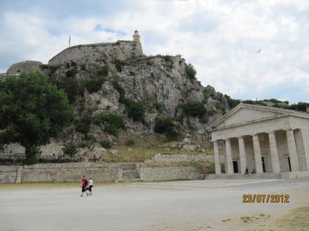 Burg/Palast/Schloss/Ruine - Alte Festung / Palaió Froúrio