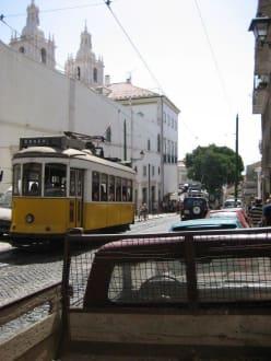 Station Graca - Altstadt Lissabon