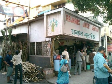 Zuckerrohrstand - Bombay