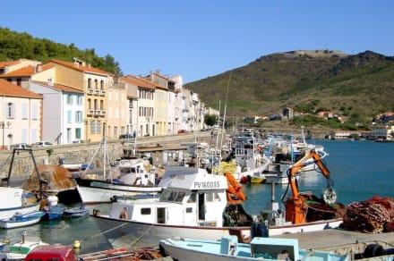 Port Vendres  - Blick über den Port pêche - Port Vendres