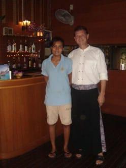 Die Besitzer des Balini - Restaurant Balini
