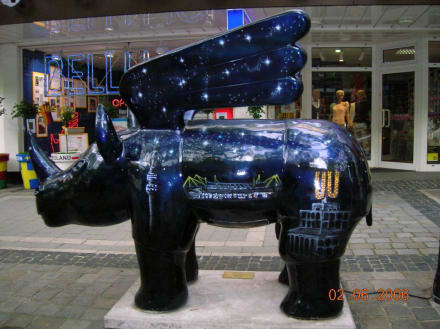 Nashorn mit Flügel - Zentrum Dortmund