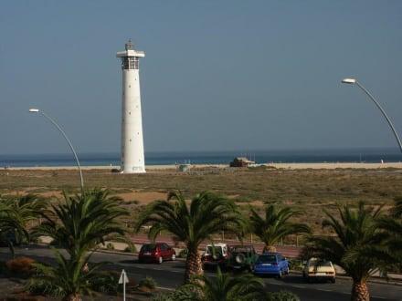 Leuchtturm von Jandia Playa - Leuchtturm Morro Jable