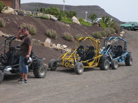 Mittagspause in La Pared - Buggy und Quad-Tour Xtreme Car Rental Costa Calma