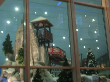 Die Skihalle - Ski-Dubai Halle (Mall of the Emirates)