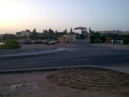 Eingang/Einfahrt Downtown - Downtown EL Gouna