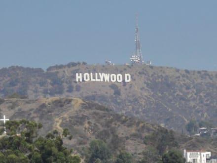 Willkommen in Hollywood - Hollywood-Schriftzug