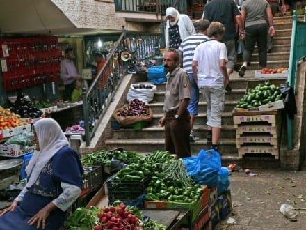 Markt in Jerusalem - Bazar