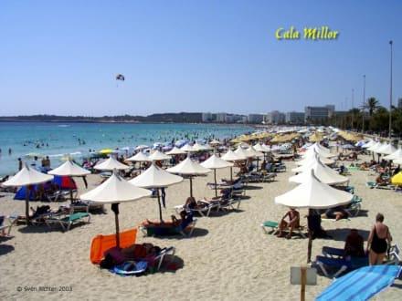 Strand in Cala Millor/Mallorca - Strand Cala Millor