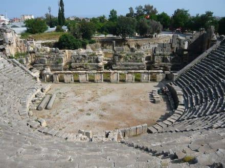 Antikes Theater von Myra - Theater von Myra