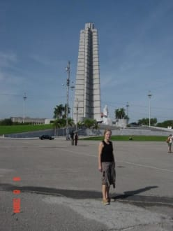 Platz der Revolution in Havanna - Platz der Revolution