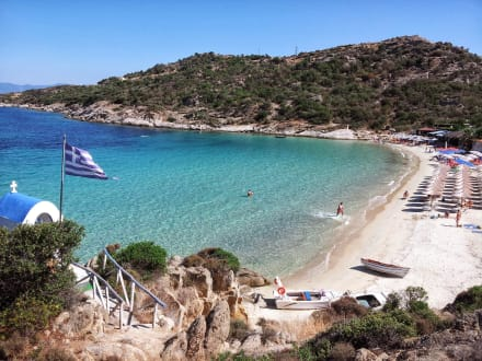 Klimataria beach 14km from Greenotel! -