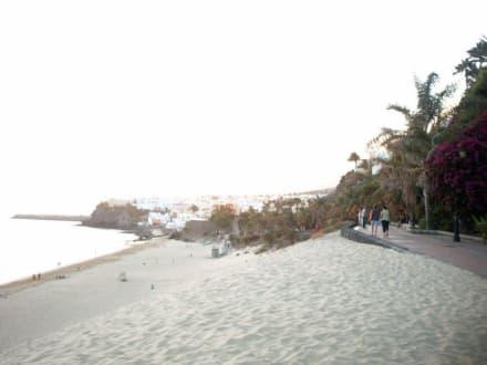 Tolle Strandpromenade - Strand Jandia