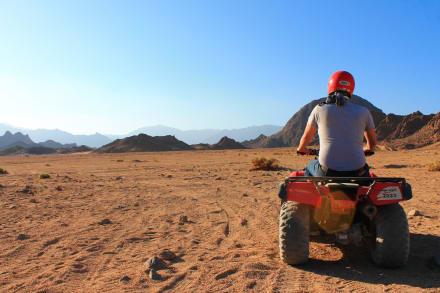 Quad  - Sharm Reisen - Sharm el Sheikh Ausflüge