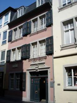 Der Eingang zum Beethoven-Geburtshaus - Beethoven-Haus