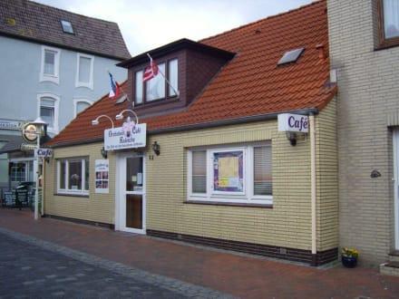 Orchideen-Cafe' in Büsum! - Cafés
