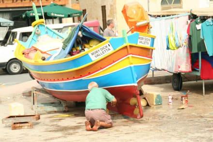 Neuer Anstrich - Hafen Marsaxlokk