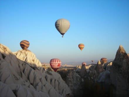 Berg/Vulkan/Gebirge - Ballonfahrt Kappadokien