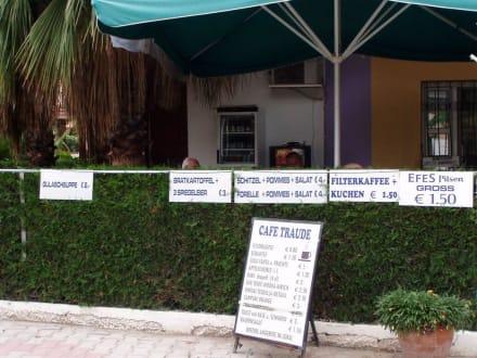 Preistafeln - Cafe Traude (geschlossen)