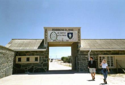 Eingang zu Robbenisland - Robben Island