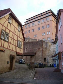 Blick zum Schloss - Schloss Sondershausen
