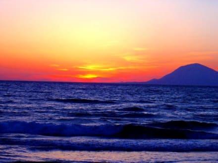 Sonnenuntergang Westpeloponnes - Strand Kyllini