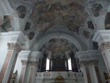Die grosse Orgel - Kloster Metten