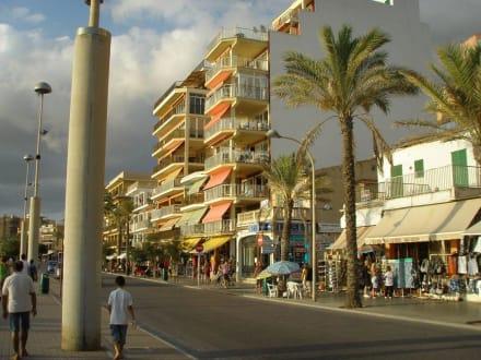 Strand/Küste/Hafen - Strandpromenade El Arenal