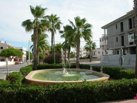Springbrunnen - Zentrum Colonia Sant Jordi
