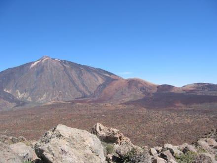 Teide, Blick vom Guajara - Teide Nationalpark