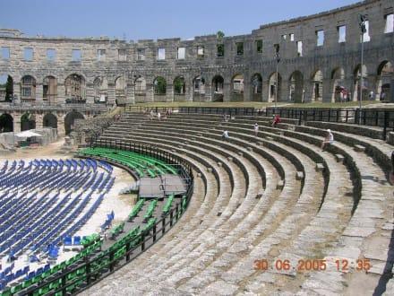 Amphitheater In Pula - Amphitheater