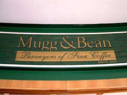 Mugg & Bean Eingangsschild - Restaurant Mugg & Bean