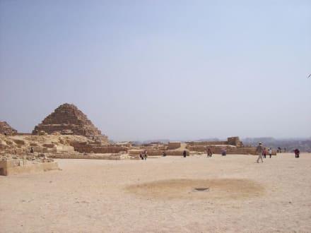 Zum nachdenken  - Pyramiden von Gizeh