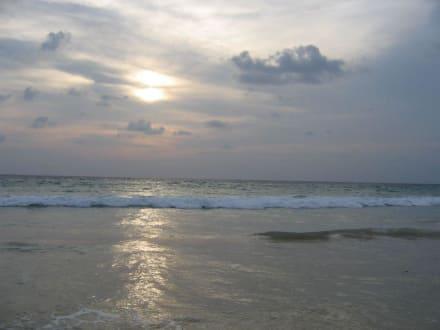 Sonnenuntergang - Strand Karon
