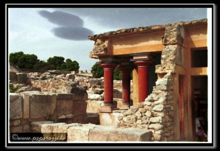 Heraklion Knossos Ausgrabungsstätte - Knossos