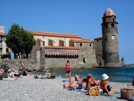 Collioure Strandleben - Altstadt Collioure