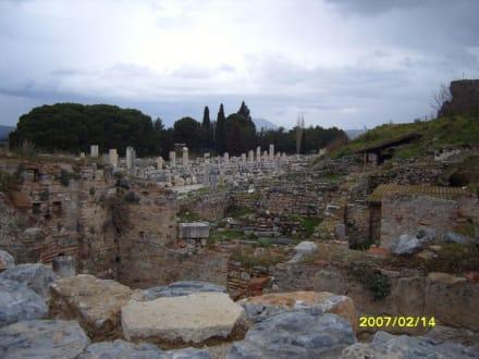 An der Scholastika Therme! - Antikes Ephesus