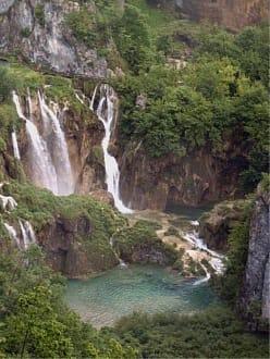 Wasserfall - Nationalpark Plitvicka Jezera (Plitvicer Seen)