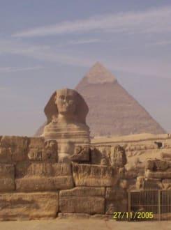 Sphinx - Pyramiden von Gizeh