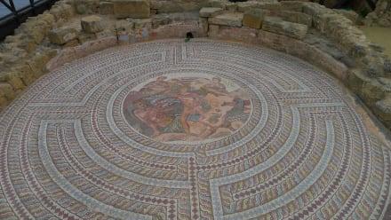 Mosaik in Paphos - Mosaiken von Paphos