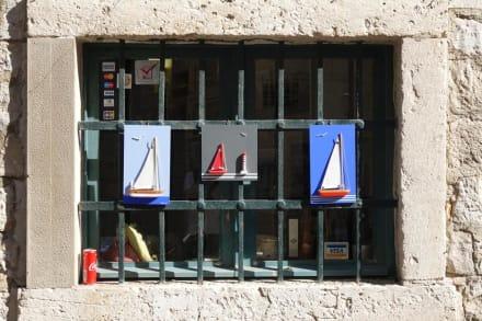 Fenster mit Gitter - Altstadt Dubrovnik