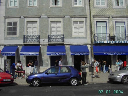 In Belem (Vorort von Lissabon) - Pastéis de Belém