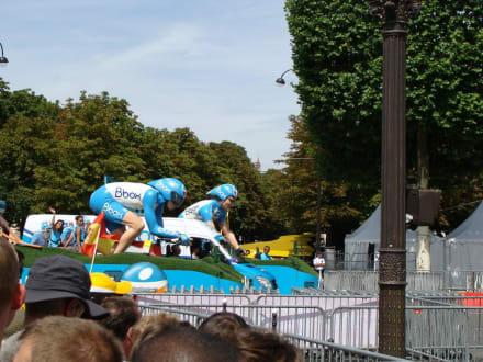 Werbekarawane - Le Tour de France