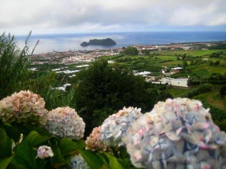 Aussicht über Vila Franca - Vila Franca do Campo