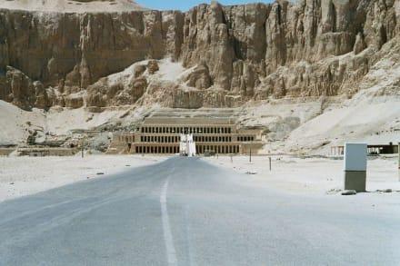 Tempel der Hatschepsut - Tempel der Hatschepsut